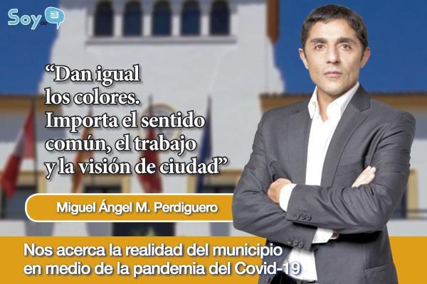 """Miguel Ángel M. Perdiguero: """"La política ha cambiado, ya no es tanto del yo, sino del nosotros"""""""