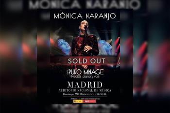 La cantante regresa al escenario con la gira 'Puro Minage'