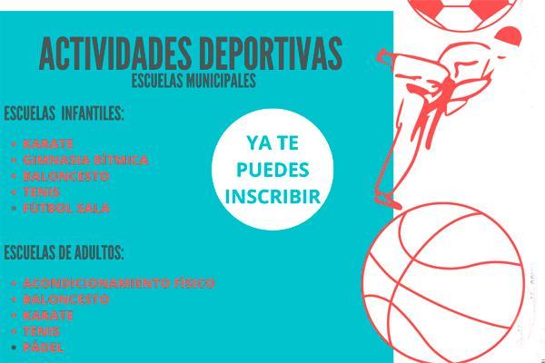 Moraleja abre las inscripciones para sus Escuelas Deportivas Municipales