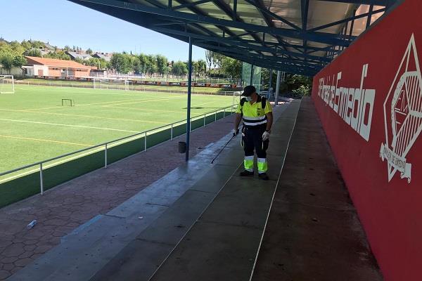 Moraleja de Enmedio anuncia medidas para garantizar la seguridad de los deportistas frente al COVID-19
