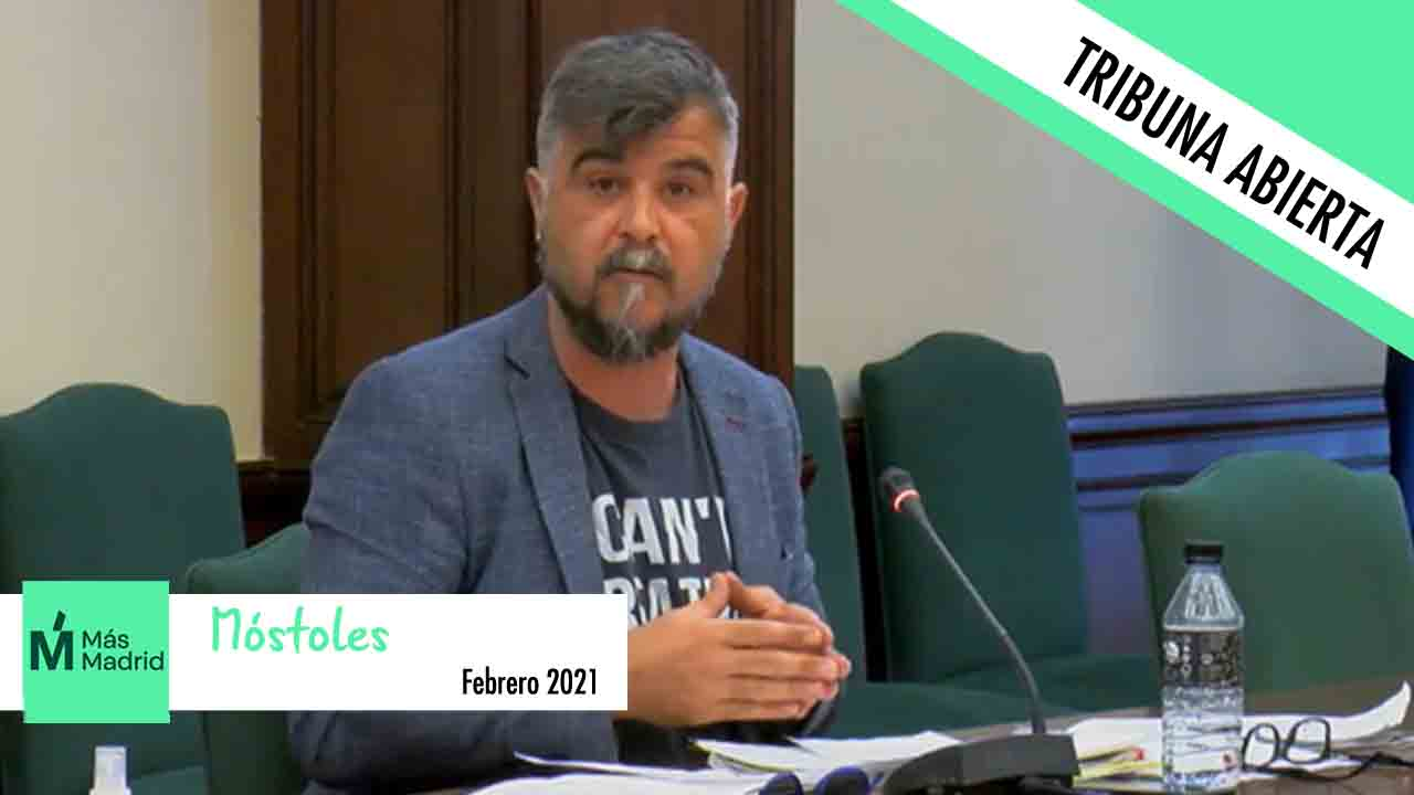 Opinión | Gabriel Ortega, Portavoz del grupo municipal Más Madrid-Ganar Móstoles, se centra en el daño en el arbolado