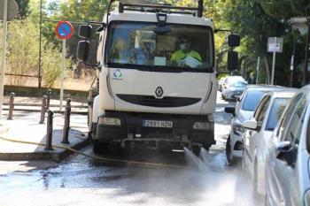 El ayuntamiento ha realizado cerca de 40.000 actuaciones de desinfección en la ciudad