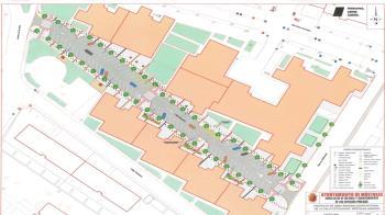 Con el proyecto también se hará una prolongación de la plaza Villafontana hasta la calle de Simón Hernández