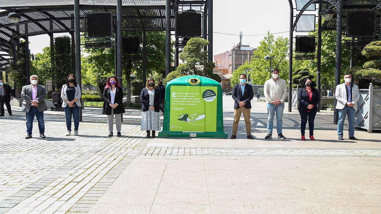 Móstoles se une a Ecovidrio para su nueva campaña de reciclaje