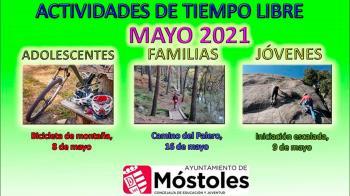 El Ayuntamiento ha ampliado su oferta de actividades para mayo según las distintas edades y tendrán un precio máximo de 15€