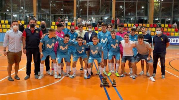 Un partido entre dos equipos recién ascendidos a Segunda División RFEF coincidiendo con las fiestas municipales