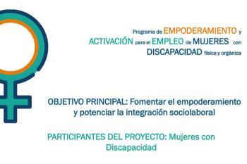 El objetivo del curso es potenciar el empoderamiento y la integración laboral