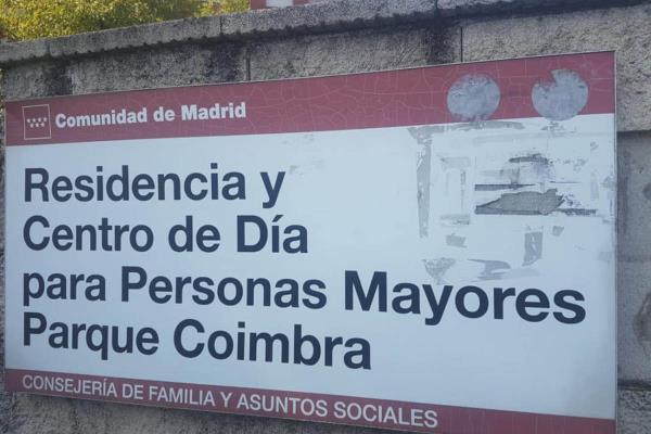 Multa para el director de la residencia de mayores Parque Coímbra de Móstoles