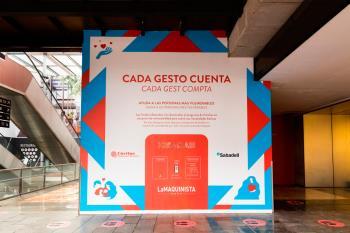 Parquesur y La Vaguada permiten realizar donaciones directas a Cáritas