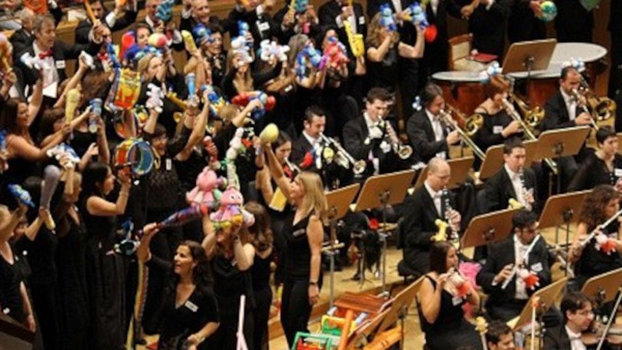 Participan la Orquesta Metropolitana de Madrid y el Coro Talía con obras como 'El Bolero de Ravel'