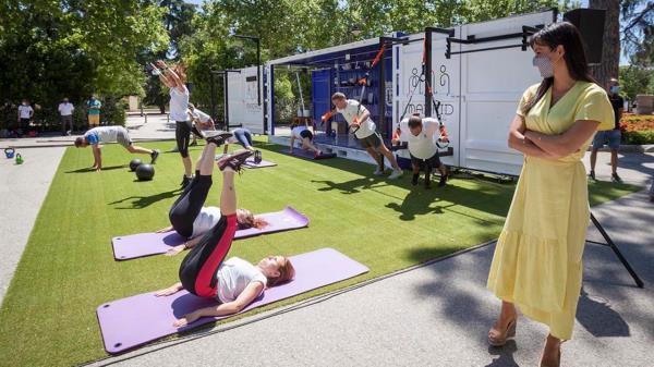 El Cubo Gym es un nuevo proyecto deportivo municipal que han creado para fomentar y acercar la actividad