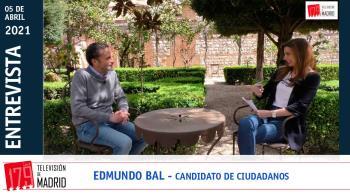 Nos encontramos con el candidato de Ciudadanos a presidir la Comunidad de Madrid