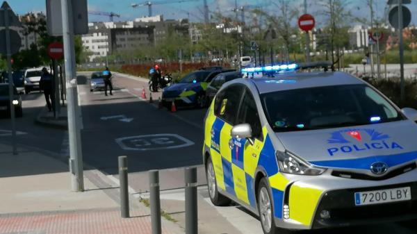 Los vehículos tuvieron que ser retirados por la grúa