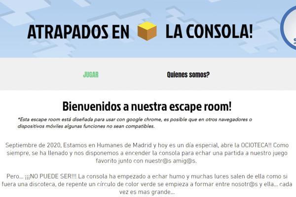 Niños de 8 y 12 años diseñan un escape room para jugar desde casa