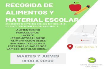 Las donaciones se harán llegar a entidades sociales de Fuenlabrada