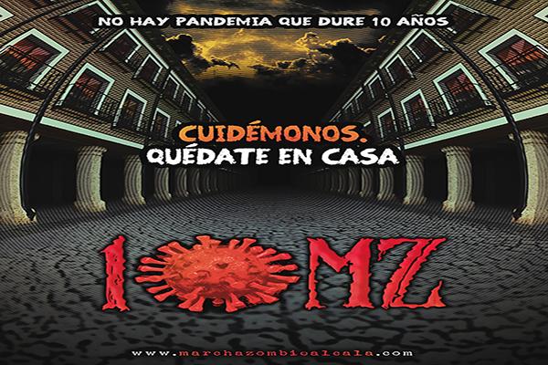 Propuestas para celebrar la Marcha Zombie durante la pandemia