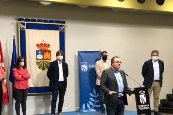 El alcalde de Leganés, Santiago Llorente, muestra su enfado ante la inacción de la Comunidad de Madrid frente al Covid-19