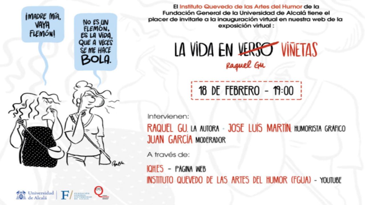 El IQH presenta la exposición 'La vida en viñetas' de Raquel Gu