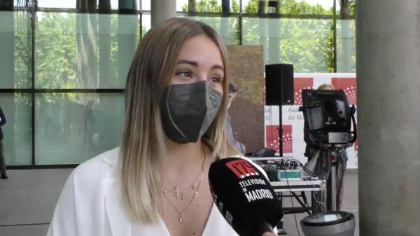 Noelia Núñez, la voz fuenlabreña en la Asamblea de Madrid