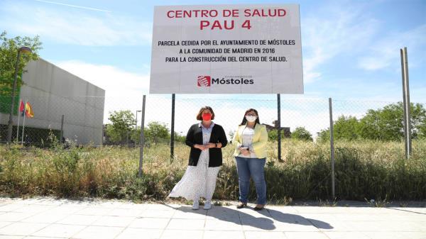 La alcaldesa ha visitado la parcela cedida para la construcción del centro