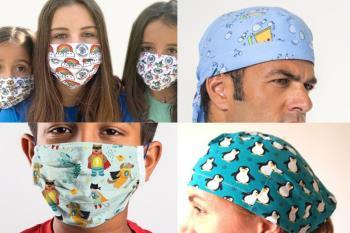 La venta de las mascarillas y gorros está orientada a ayudar a la acción social de la Parroquia de Santo Tomás de Villanueva