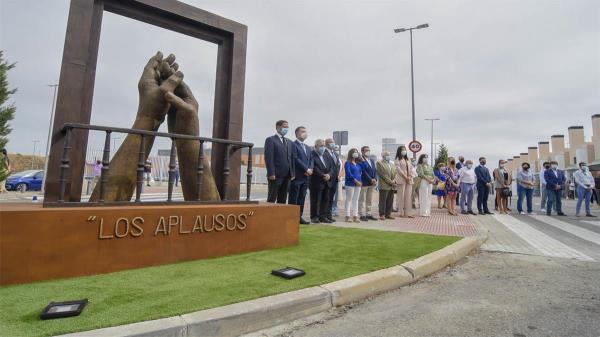 'Los Aplausos' se ubica en el Paseo de la Concordia, junto al Hospital Universitario de Torrejón de Ardoz