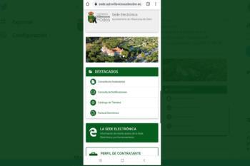 El Ayuntamiento ha mejorado su plataforma virtual