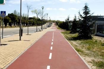 Los vecinos podrán disfrutar de una pasarela peatonal y ciclista sobre la M-503