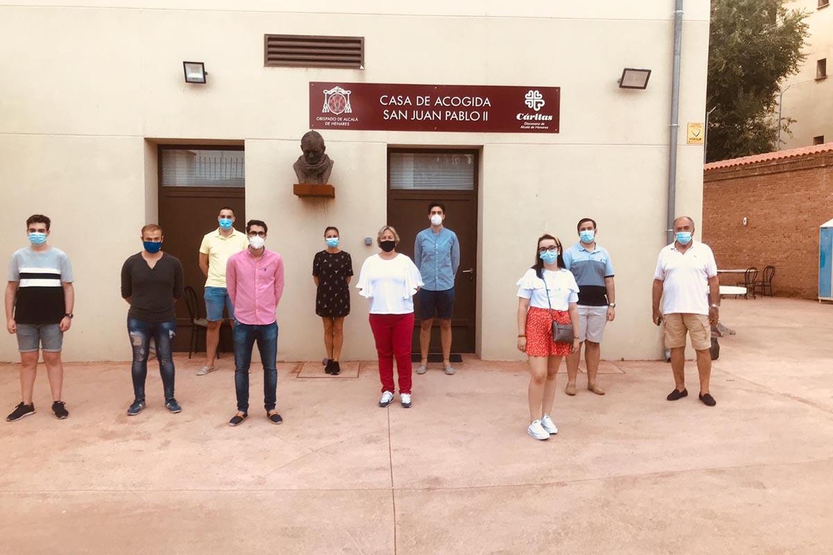 Los jóvenes populares iniciaron el proyecto de Crowdfunding el pasado 4 de mayo