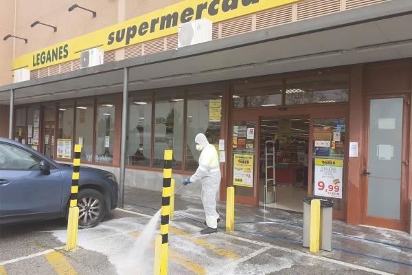 Nuevas medidas urgentes para tratar de evitar la propagación de la COVID19 en Leganés