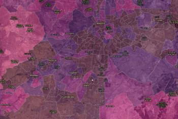 La tasa de incidencia de la covid-19 desciende en varias zonas de la Comunidad