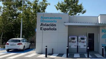 El aparcamiento tiene 8.700 metros cuadrados en el distrito de la Latina
