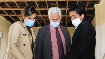 El alcalde, Narciso Romero y el vicealcalde, Miguel Ángel Martín Perdiguero han visitado el espacio