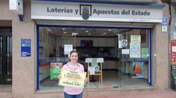 """La Administración de Lotería número 4 """"La viñita"""" ha sido quien ha otorgado el premio"""