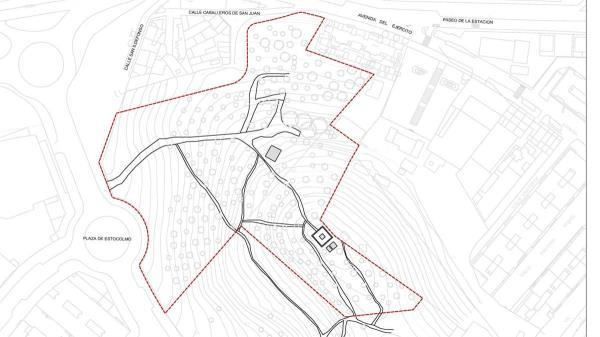 La zona verde estará ubicada entre la Avenida del Ejército y la Avenida de Lisboa