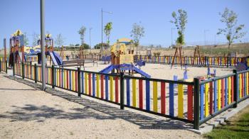 El Parque de los Descubridores se ubica en la zona de Valenoso