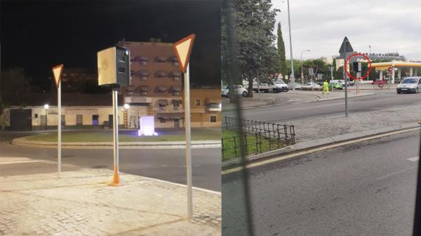 Ya son varios los dispositivos de control de velocidad instalados en Alcalá