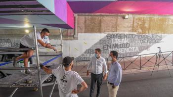 La ciudad contempla una mejora estética del municipio a través del arte urbano