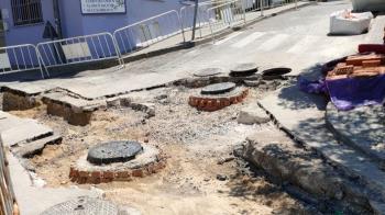 Las obras se están realizando en las calles Isaac Peral, Juan XXIII y La Paz.