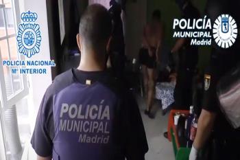 Los arrestados están acusados de vender diferentes tipos de estupefacientes
