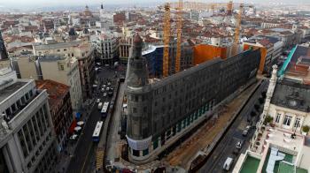 El proyecto busca la creación de un centro comercial, residencial y hotelero de lujo, entre siete edificios emblemáticos