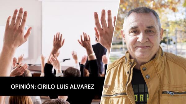 Cirilo Luis Álvarez reflexiona sobre educación y adoctrinamiento