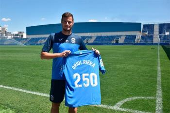 El delantero del C.F. Fuenlabrada ha anunciado su retirada para empezar su carrera como entrenador