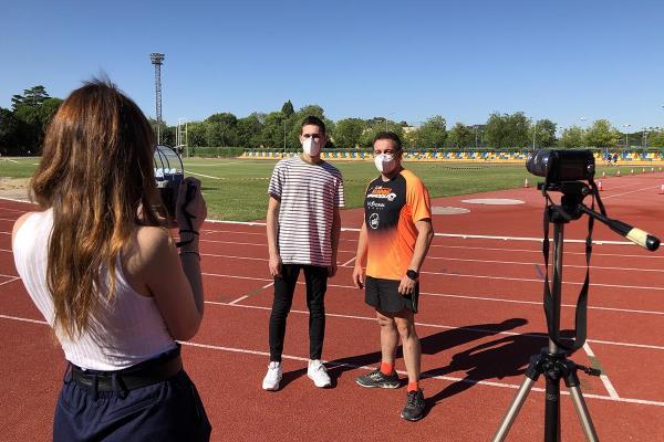 """Óscar Buenavida: """"El atletismo está de moda y tenemos una zona privilegiada para hacerlo"""""""