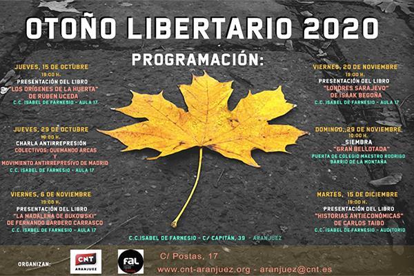 Otoño Libertario 2020 Aranjuez