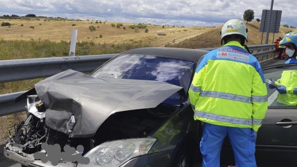 Otro accidente más en Alcorcón