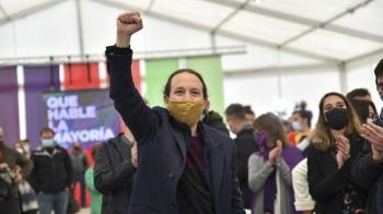 El candidato de Unidas Podemos a las elecciones del 4-M achaca los ataques fascistas a ex miembros del Partido Popular