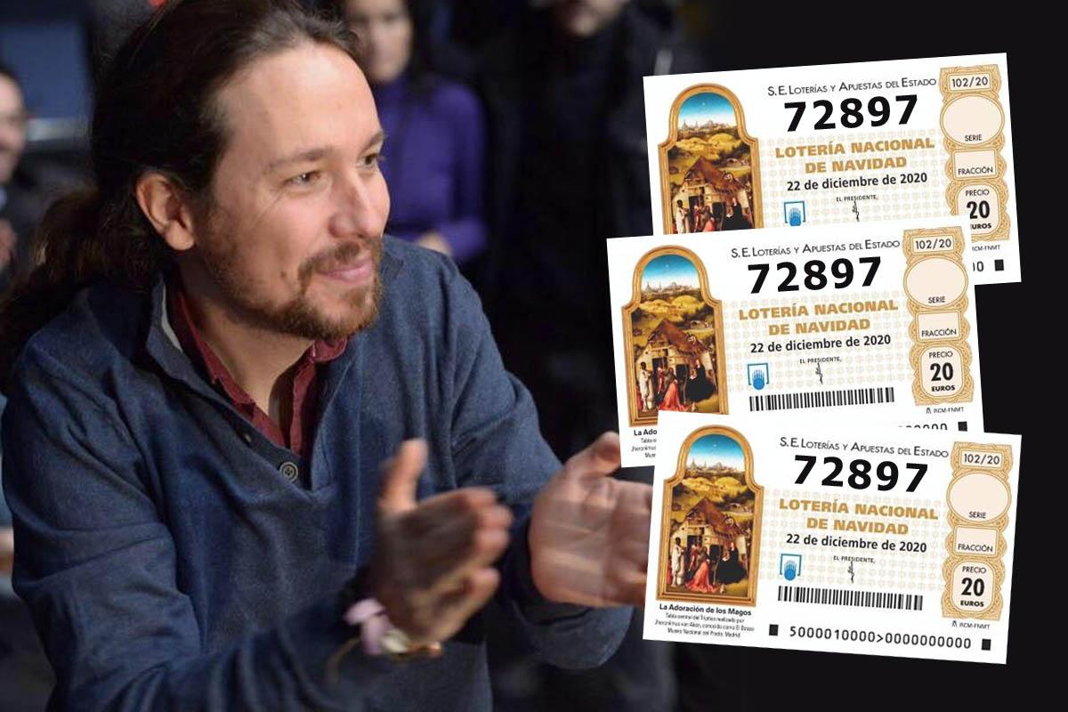 El número 72897, deja 1.200.000€ en el hogar del vicepresidente del Gobierno