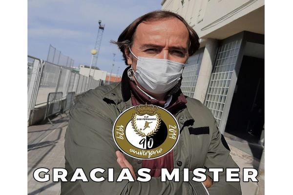 Pablo López deja de ser entrenador del CD San Fernando