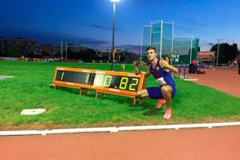 El de Torrejón de Ardoz logró bajar de los 61 segundos en el medio kilómetro